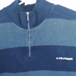Tommy Hilfiger Mens 1/4 Zip Sweater Long Sleeve